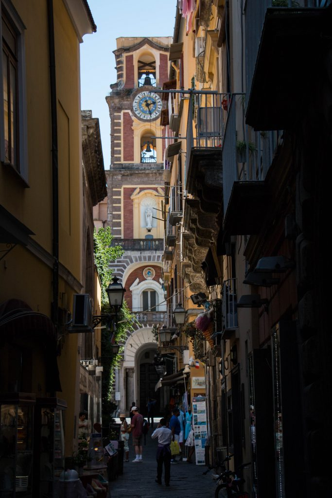 Alley leading to Corso Italia - Sorrento