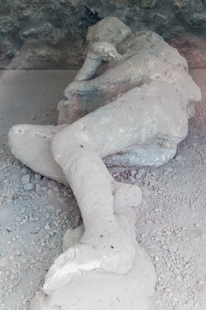 Plaster Cast in the Garden of the Fugitives