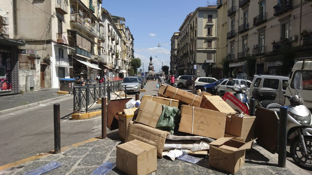 Rubbish in Naples